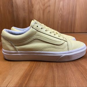 Vans Yellow Leather Sneakers TSS0156